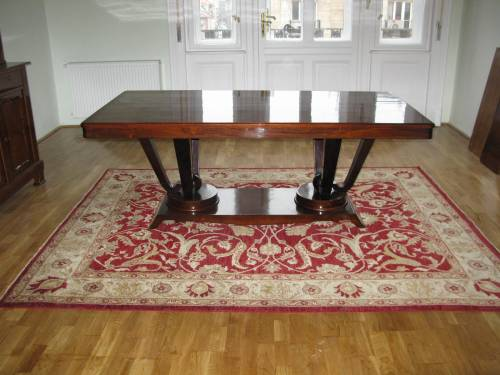 Art deco 1920s dining table